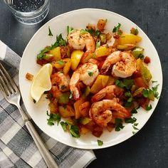 Cajun Shrimp Saute - 2.25 SPts for 4 servings