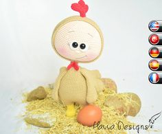PATTERN   Bonnie With Chicken Costume by HavvaDesigns on Etsy