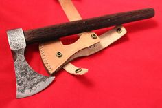 custom hand forged 1095 high carbon steel tomahawk by eKnifeshop
