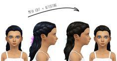 Twisted Wavy Hair Edit (CF) at Dani Paradise via Sims 4 Updates