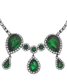 Emerald Necklace.... oooooohhhhh