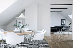 Inspiring Homes: Classics-filled White Home in Malmö   Nordic Days