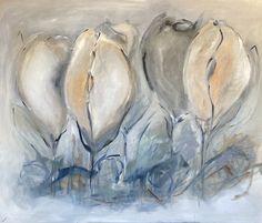 Painting for sale by Birthe Villauma   100 x 120 cm   Experienced Artist