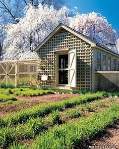 love the lattice front for summer cooling.  Need a way of covering the inside for winter, shutters
