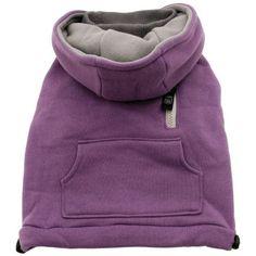 Dogit Mock-Neck Dog Hoodie, Medium, Purple $8.60