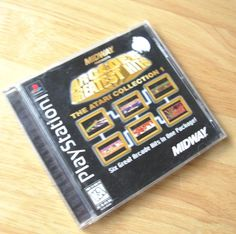 PLAYSTATION Black Label Game PS1 ARCADE'S GREATEST HITS ATARI COLLECTION 1 Rare