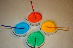 Get creative with some great homemade DIY tempera paint and more that's great for children...