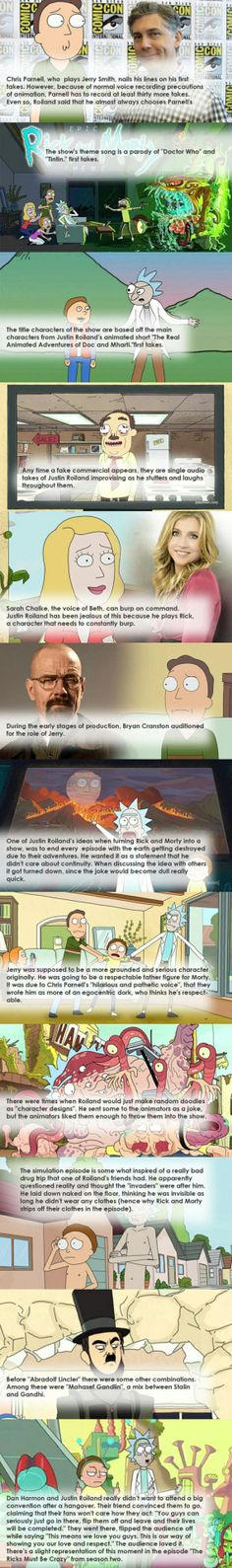 Fun facts about Rick and Morty #lol #funny #rofl #memes #lmao #hilarious #cute