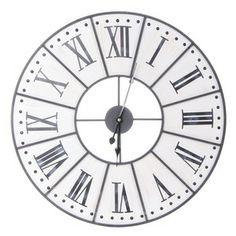Horloge Murale - Bouclair | Home | Pinterest | Wall clocks, Clocks and Bed wall