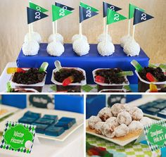 Golf Party - Themed Desserts