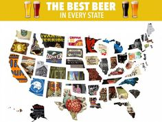 This Map Shows The Best Beer From Every State
