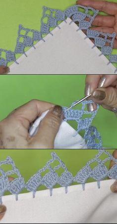 Crochet Doilies, Crochet Flowers, Crochet Lace, Crochet Headband Pattern, Crochet Flower Tutorial, Lace Patterns, Crochet Patterns, Hand Embroidery, Embroidery Designs