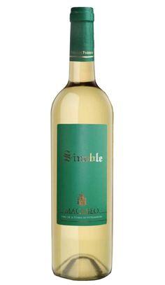 VINO BLANCO SINOBLE 2012 MACABEO Ha recibido el premio al mejor  Blanco Joven del Consorcio del Museo del Vino de Extremadura.