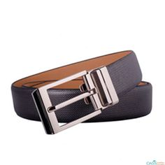 Add spark to your look with Designer Weave Black Leather Men Belt from Oasis Leather.