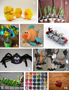 egg carton projects