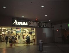 Ames ~ GRAND OPENING after Zayre was liquidated and was taken over by Ames.