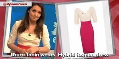 Want to know where Laura Topin got her dress on Good Morning Britain? Style on Screen can tell you. Good Morning Britain, Contrast, How To Wear, Dresses, Women, Style, Fashion, Vestidos, Swag