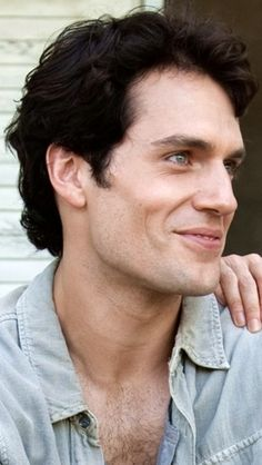 Cavill's smile is devastating cuz he KNOWS how much I love him so....lol!!! ;)