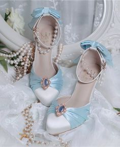 Inmyname -The Dance Party- Vintage Classic Lolita Shoes,Lolita Footwear, Bridal Shoes, Wedding Shoes, Wedding Reception, Cute Shoes, Me Too Shoes, Trendy Shoes, Shoe Boots, Shoes Heels, High Heels