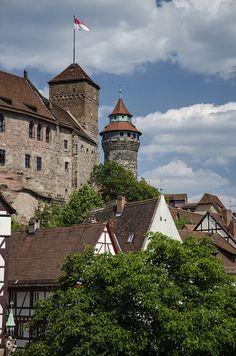 Nuremberg Castle - Bavaria, Germany