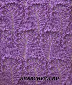 What a beautiful stitch pattern!Knitting pattern on Russian site, but with a stitch diagram.The unusual pattern of spokes Knitting Room, Lace Knitting Stitches, Lace Knitting Patterns, Knitting Charts, Lace Patterns, Loom Knitting, Knitting Designs, Knitting Projects, Stitch Patterns
