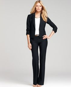 Ann Taylor - AT Final Sale - Petite Tropical Wool Melville Jacket