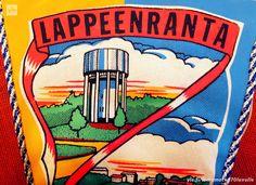Viiri Lappeenrannasta. yle.fi/lomamatka70luvulle