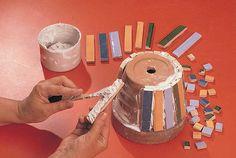 decorare vasi