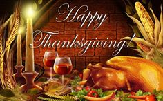On Thanksgiving Day one can be thankful, without thanking a god.