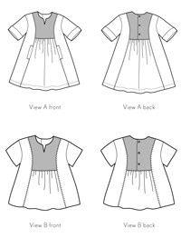digital hide-and-seek dress + tunic sewing pattern Oliver & S Tunic Sewing Patterns, Kids Clothes Patterns, Baby Girl Dress Patterns, Sewing Kids Clothes, Sewing Aprons, Tunic Pattern, Kids Patterns, Sewing For Kids, Clothing Patterns