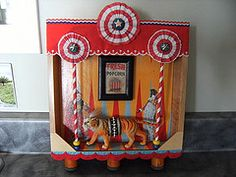 Another circus assemblage I made in summer 2012.