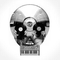 E-music skull (by Music Love, Love Life, Skull, Sugar, Rock, Musica, Skirt, Locks, The Rock