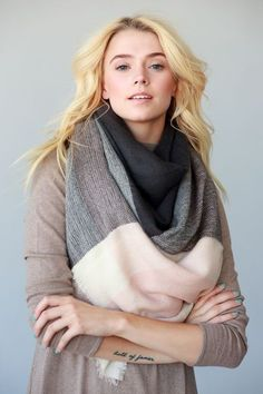 Checkmate Blanket Scarf