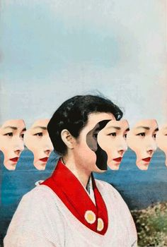 Collages and animated GIFs – The latest strange creations by Matthew Bourel