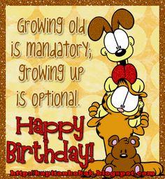 garfield happy birthday | kuwento ni kapitan kokak: Happy 34th birthday Garfield