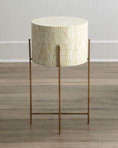 """Regina-Andrew Design """"Mesita"""" Drum Table - Horchow"""
