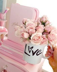 New Wall Paper Iphone Cute Girly Flowers Pink Roses Ideas
