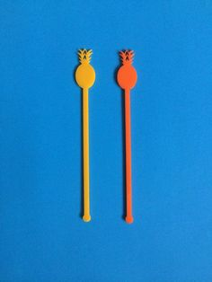 Raising the Bar: Jenn and Jules Designs Pineapple Drink Stirrers | from $8