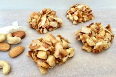 For a protein packed snack that will banish hunger until your next meal, try these 5 Ingredient Crunchy Coconut Bites, just 138 calories.
