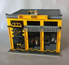 STRIKE Bowling Alley :: My LEGO creations. Strike - the perfect place to spend your 'spare' time