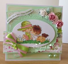 LOTV - Meant to Be with Romance and Roses Paper Pad by Kelly Lloyd