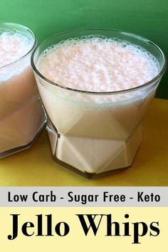 This is a popular recipe for low carb and Keto Sugar-Free Jello yogurt whips. It… This is a popular recipe for low carb and Keto Sugar-Free Jello yogurt whips. It's a quick and easy dessert or snack with only net carbs per serving. Low Carb Sweets, Low Carb Desserts, Low Carb Recipes, Cooking Recipes, Diet Recipes, Diabetic Desserts, Easy Desserts, Cooking Stuff, Recipes