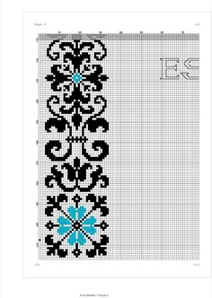 Cross Stitch Boarders, Cross Stitch Flowers, Cross Stitch Designs, Cross Stitch Patterns, Minion Crochet, Arabesque Pattern, Beads Pictures, Prayer Rug, Baby Sewing