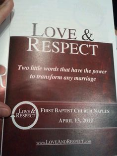 Love and Respect in Ecclesiastes