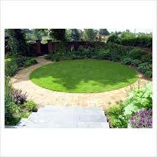 image result for circular lawn garden designs
