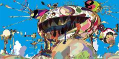 Takashi Murakami Art | This was a presentation I created for beginning painting students to ...