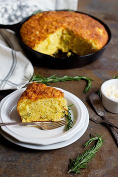 Rosemary Cheddar Cornbread | Community Post: 12 Delicious Cornbreads You Need To Try Before You Die