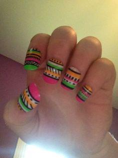 Amazing nail art! #manicure