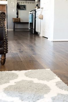 Beautiful Vintage Tobacco Oak Flooring - a gorgeous laminate flooring from Pergo that we've installed in our whole downstairs. Wood Floors Wide Plank, Floor Design, Flooring, Laminate Flooring Colors, Hardwood, Real Hardwood Floors, Cheap Hardwood Floors