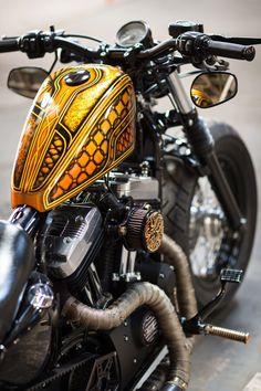 6 Ingenious Cool Ideas: Harley Davidson Softail Bobber vrod harley davidson v rod. Harley Iron 883, Harley 48, Vrod Harley, Harley Bobber, Harley Davidson Panhead, Harley Davidson Custom, Harley Davidson Boots, Bobber Motorcycle, Motorcycle Design